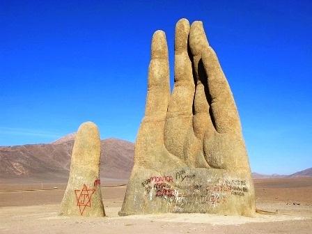 Thực tế, đó là một công trình điêu khắc hiện đại – một mô hình nghệ thuật với tên gọi